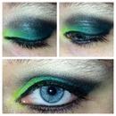 Green, Aqua & Black