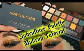 Subculture Palette Eyeshadow Tutorial   Anastasia Beverly Hills