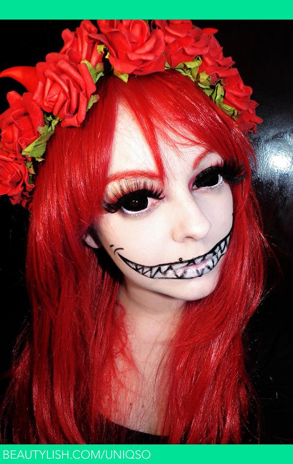 Halloween Fairy using Black Sclera Lenses- Sabertooth | Lee L.u0027s (Uniqso) Photo | Beautylish  sc 1 st  Beautylish & Halloween Fairy using Black Sclera Lenses- Sabertooth | Lee L.u0027s ...