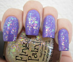 Finger Paints Twisted over Julep Anne
