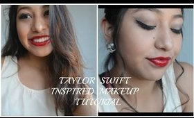 """Taylor Swift Inspired Makeup Tutorial """"Blank Space"""""""