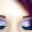 purple eyes purple hair :)