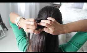 Layered Twist Around Hairstyle