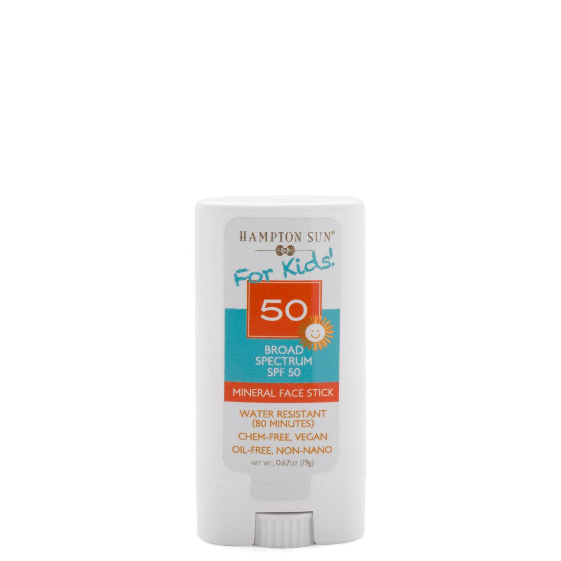 Hampton Sun SPF 50 Kids Mineral Face Stick product swatch.