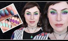 Mint n' Mauve Pastel Spring Makeup | LetzMakeup
