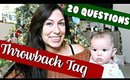 20 QUESTIONS TAG | Vlogmas Day 10
