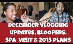 Last Video of 2014! Updates, Spa Visit, 2015 Plans & More! VLOG #3`