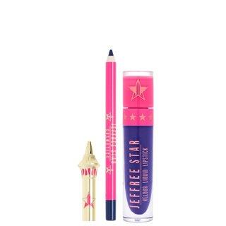 Velour Lip Kit Blue Velvet