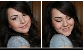 My Everyday Fall Makeup ft. Naked 2 Palette