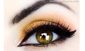 Golden Arabic Inspired Makeup Tutorial