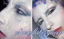 Snowflake queen Frost make-up / frozen look tutorial winter inspired