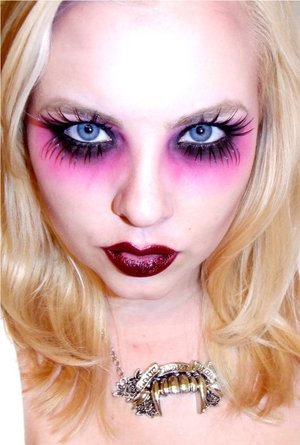 Blink MAG Halloween 2010 Look. Still one of my favorites i did!