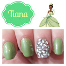 Tiana Inspired Nails