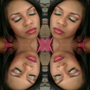Tutorial on this look on youtube @glamorousleigheje remember 2 SUBSCRIBE