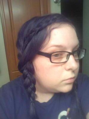 Twin braids.