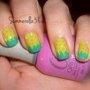 Acid Strawberry Nails