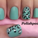 Prolong Summer... The Teal Cheetah Design!