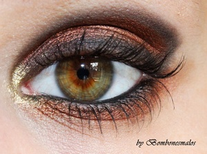 One of my first works after a long long time of not wearing or creating any eye make up