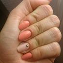 Romantic classy manicure