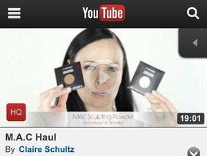 : New Video & Blog Post :: M.A.C Haul 