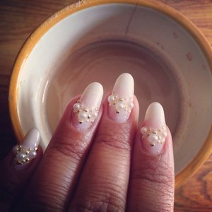 Nails to match my coffee