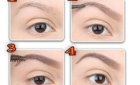 How to Eyebrows 3 part: pencil & eyeshadow &  Eyebrow Gel