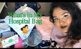 Whats in My Hospital Bag   Private Hospital   First Baby   Expected Normal Delivery   Itsmrsshasha