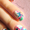 Random, colorful nails