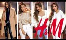 HUGE H&M-MANGO WINTER Try-On HAUL   NEW Clothes! Whats Worth It? Black Friday Sales