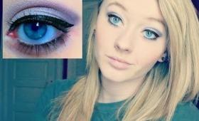 Lavender Smokey Eye Tutorial ❤