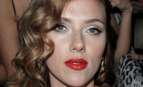 Celebrity Trend: Patent Red Lips