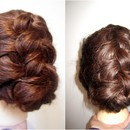 Dutch Braid Upstyle