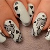 "nail art bear ""Teddy bear"""