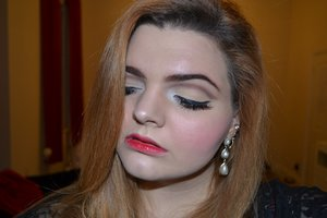 Makeup inspired by the character Juliet of Shakespeare's Romeo and Juliet.