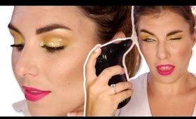 Laugh & Learn: Easy Yellow Eyeshadow Tutorial | Bailey B.
