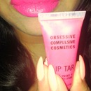 OCC lip tar for tonights look