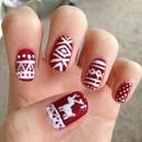 Christmas Jumper Nails