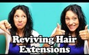 Reviving/Restoring Your Hair Extensions - Bring Your Extensions Back to Life | Instant Beauty ♡