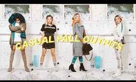 CASUAL FALL OUTFITS 🍂 | FALL LOOKBOOK 2019