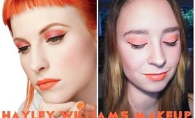 Hayley Williams MAC Collection Inspired Makeup | Tutorial