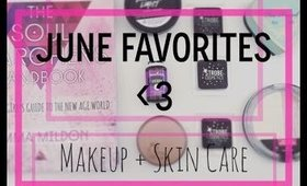 June Favorites | Makeup + Skincare