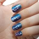 Neon Nebula nails