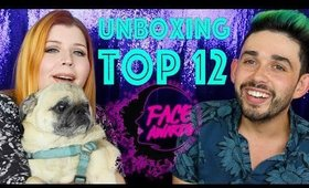 TOP 12 UNBOXING NYX FACE AWARDS!!!!
