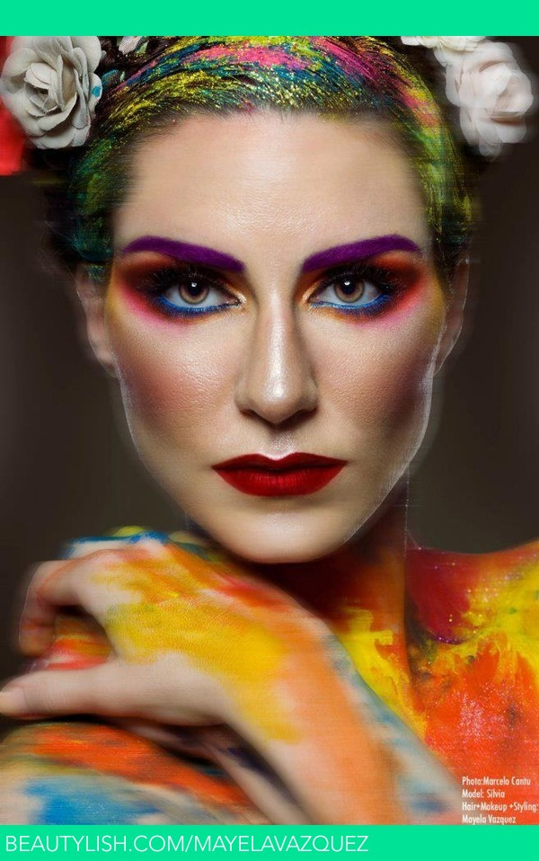 Frida Kahlo Make Up And Hair Inspiration Mayela V S