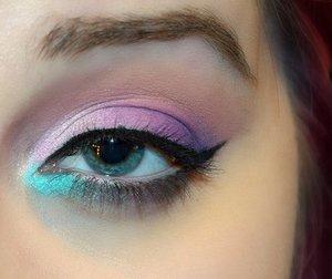 BHCosmetics Modern Matte Palette was used for my gradient eye. :)