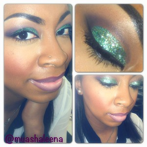 Follow me on Instagram for more makeup pics @muashaleena :)