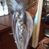 Feather-style Braid