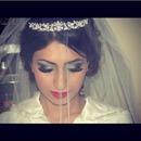 Bridal makeup my sissy done by me🙊