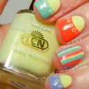 LCN Blossom Sorbet Spring Nail Art