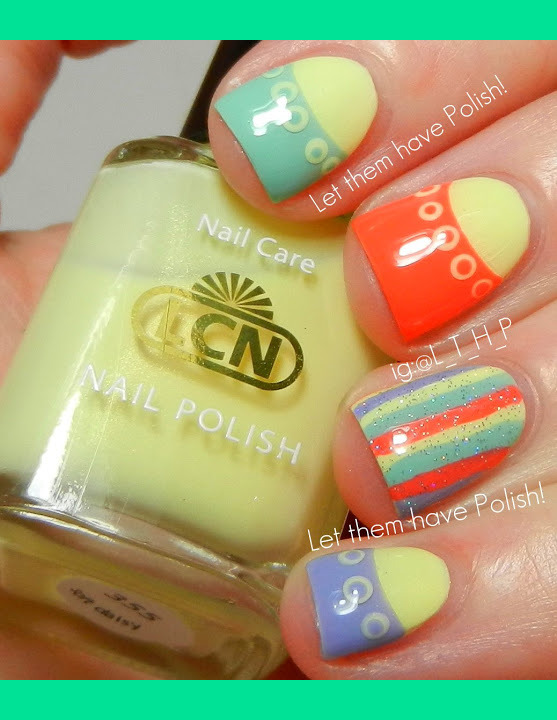 Lcn Blossom Sorbet Spring Nail Art Cristina Lthp Fs